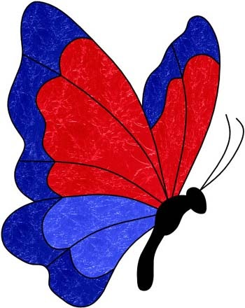 Butterfly designs for glass painting - photo#44