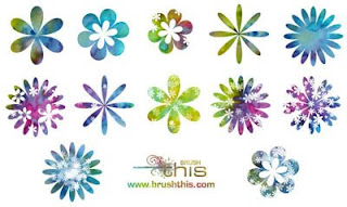 Floral Photoshop Brush Sets