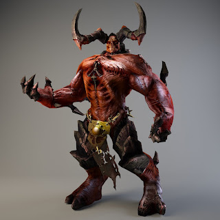 Monster-Like 3D Game Characters From DeviantArt