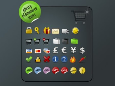 Icon Sets for E-Commerce Designs