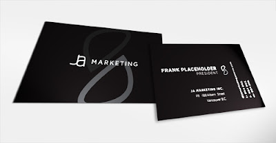 Beautiful Black White Business Card Designs