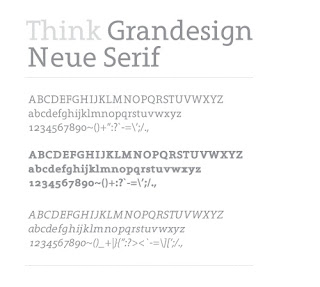 Beautiful Free Serif Fonts