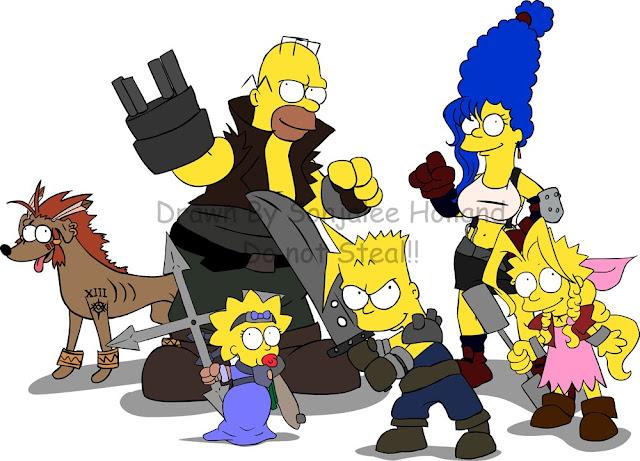 Final Fantasy Simpson