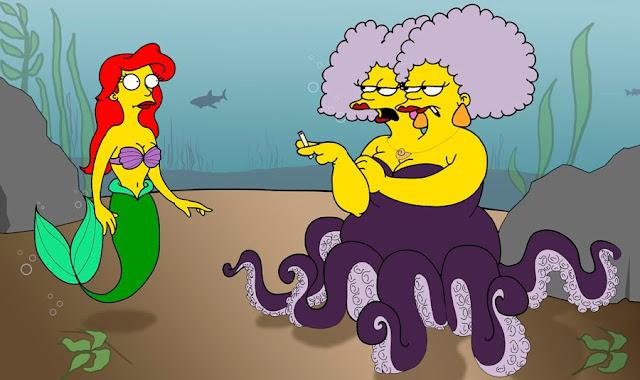 The Little Mermaid - Simpsons