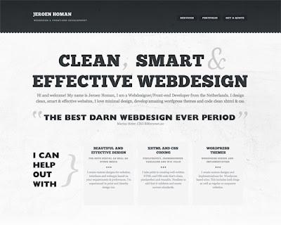 jeroenhoman  Minimal Web Designs