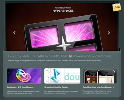 Website Designs Inspired by Apple