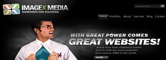 ImageX Media web design