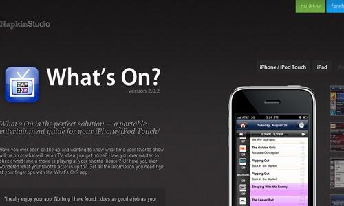 Napkin Studio web design