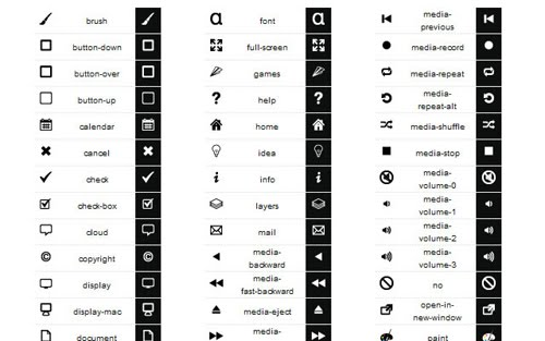 Fresh Icon Sets for Developers and Designers