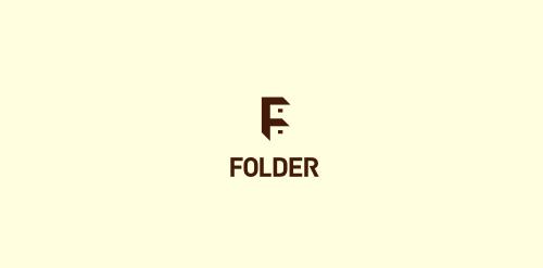 Folder logo design