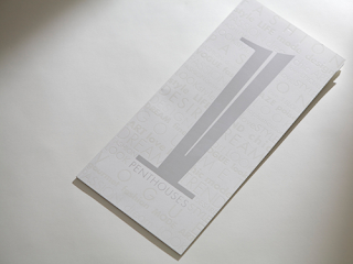 Greyscale Brochure Design Inspiration