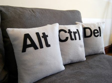 Ctrl – Alt – Del Pillows