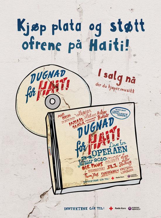 Dugnad for Haiti