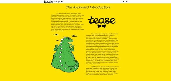 Theteasr web design
