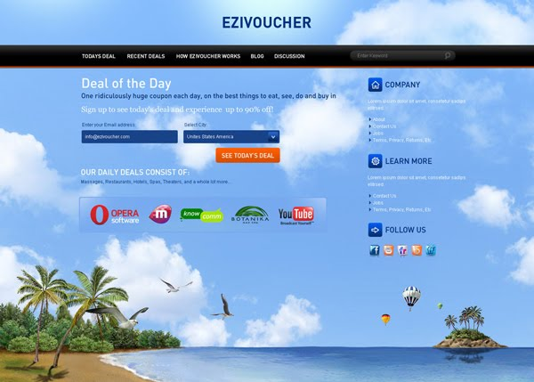 Ezivoucher  by mxartist