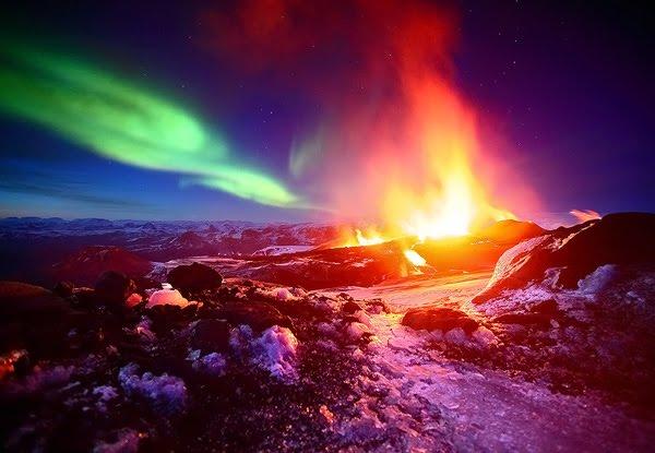 Fimmvörðuháls Eruption 2010