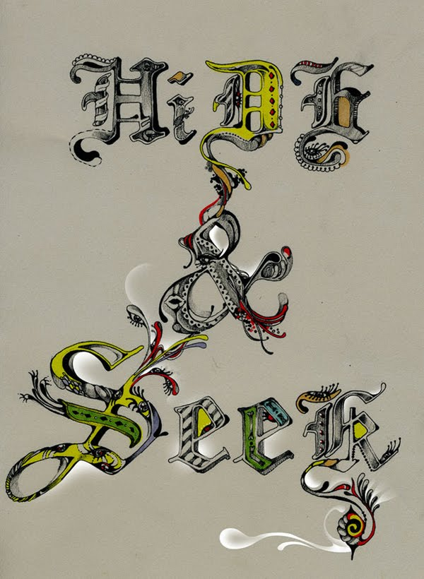 Typography by Pomme Chan