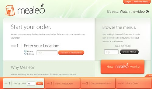 Mealeo web design