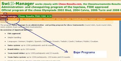 Swiss manager vídeo 004 menus: emparceiramanento, informação.