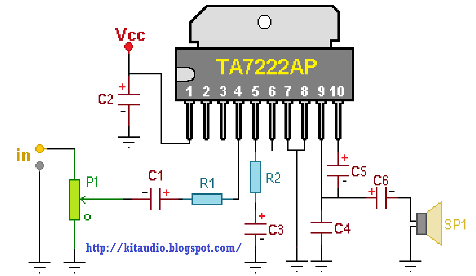 Car Capacitor Wiring Diagram Audio Clipsal Fan Controller Stereo Amplifier Schematic Get Free Image
