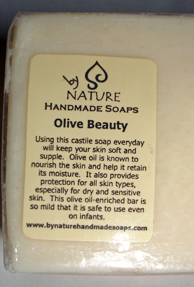 Mineral Natural Organic By Nature Handmade Soap In