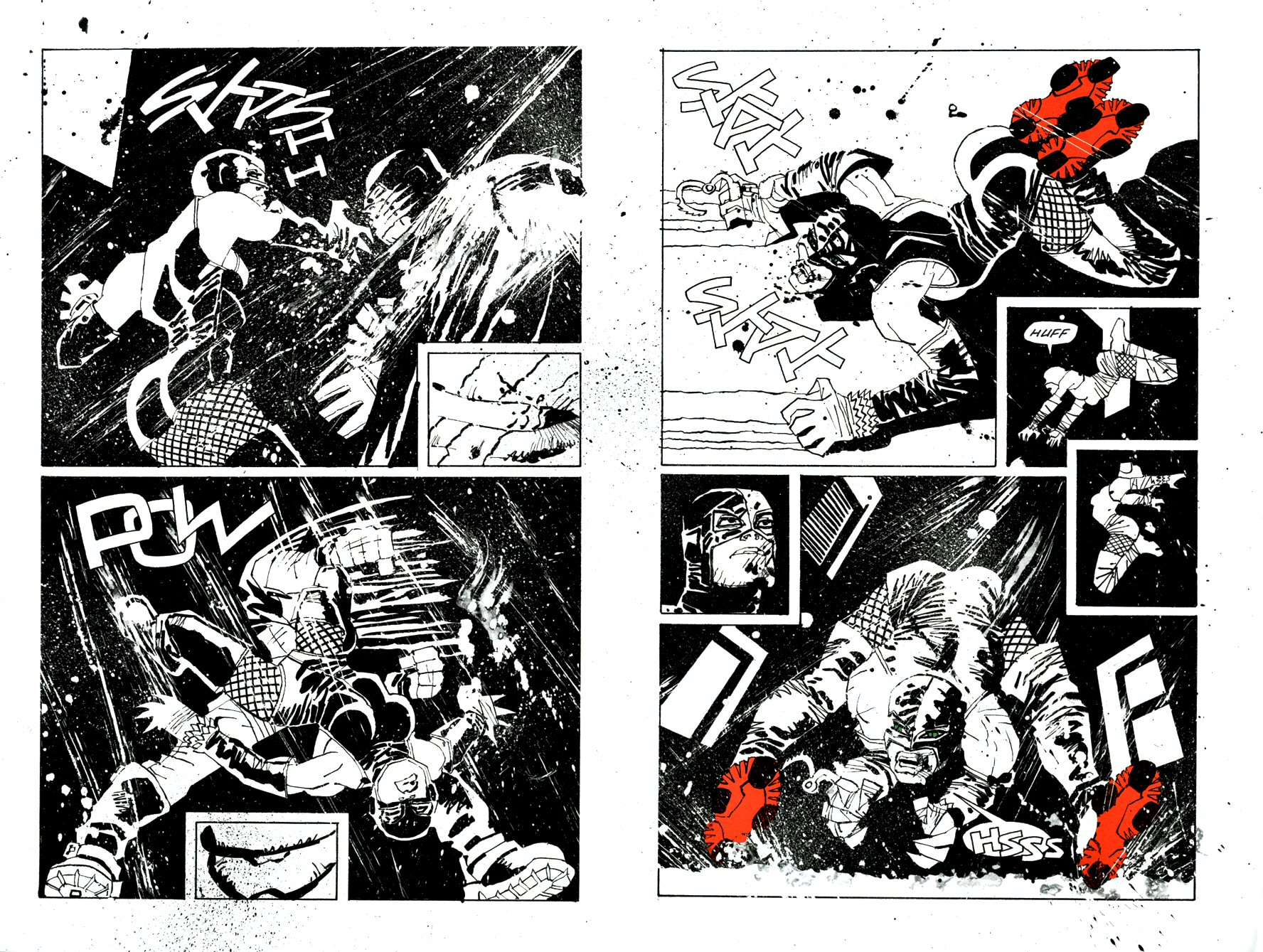 Read online Frank Miller's Holy Terror comic -  Issue # TPB - 23