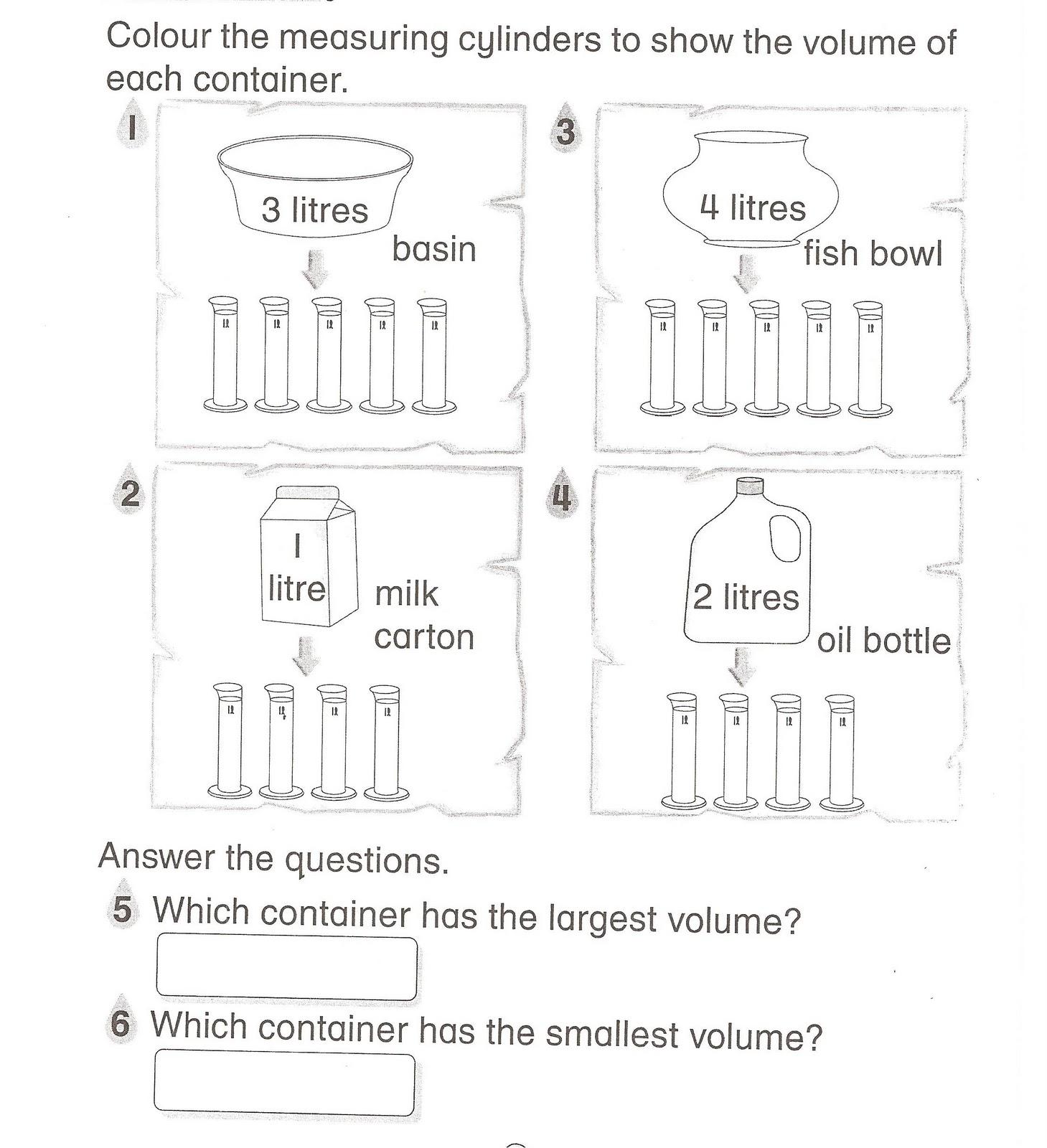 Volume Of Liquid 3 2 Topic 2 Measure And Compare Volume