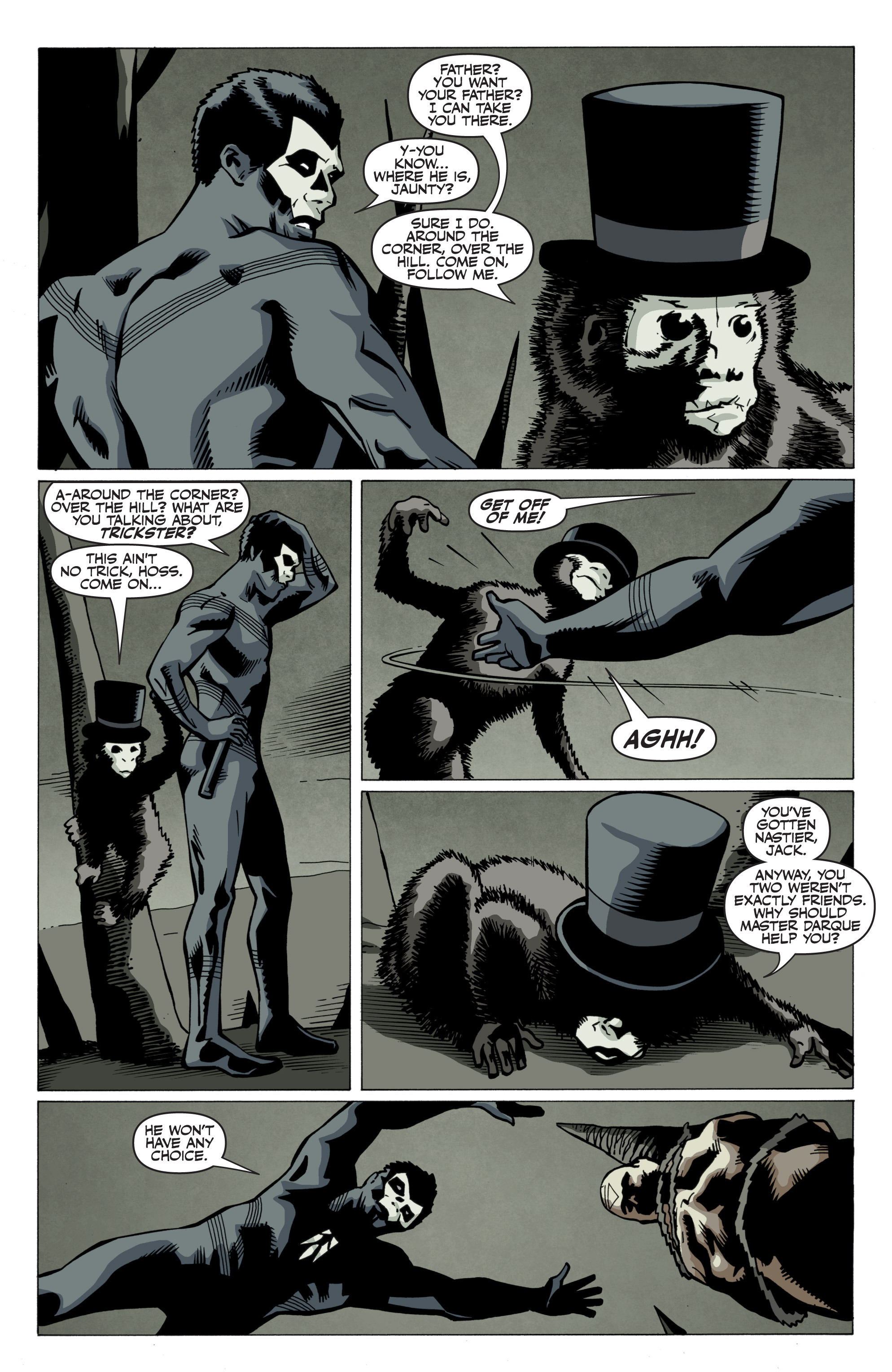 Read online Shadowman: End Times comic -  Issue #3 - 4