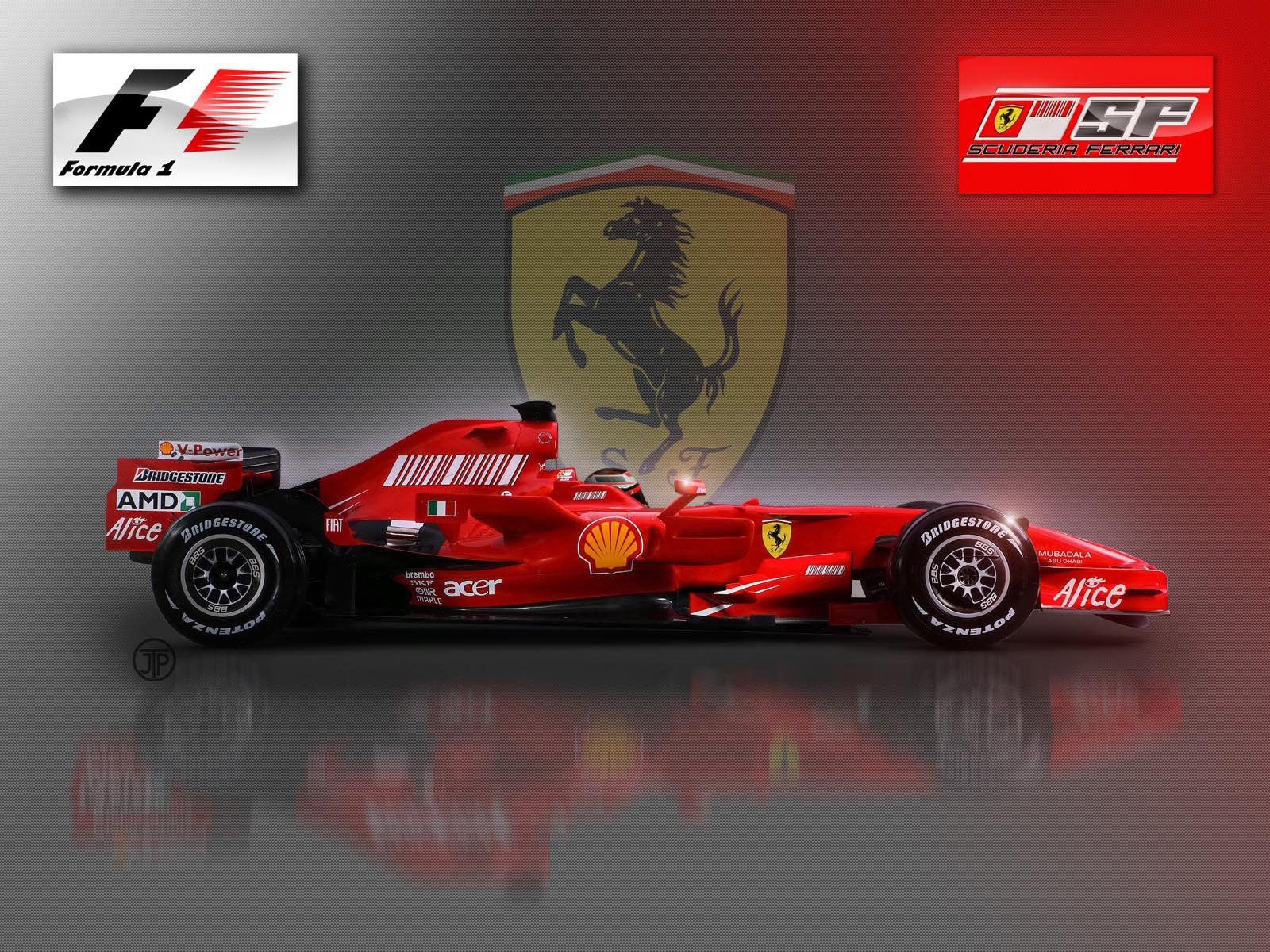Ferrari f1 car hd wallpaper 11