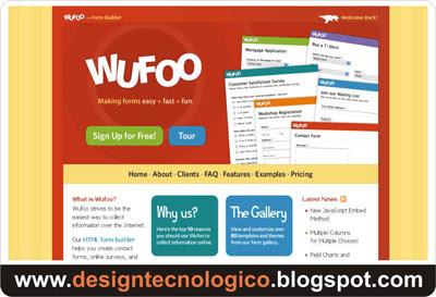 Criar formulário contato blog