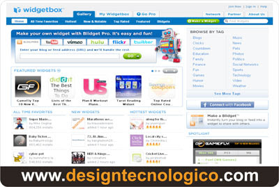 widgets blog
