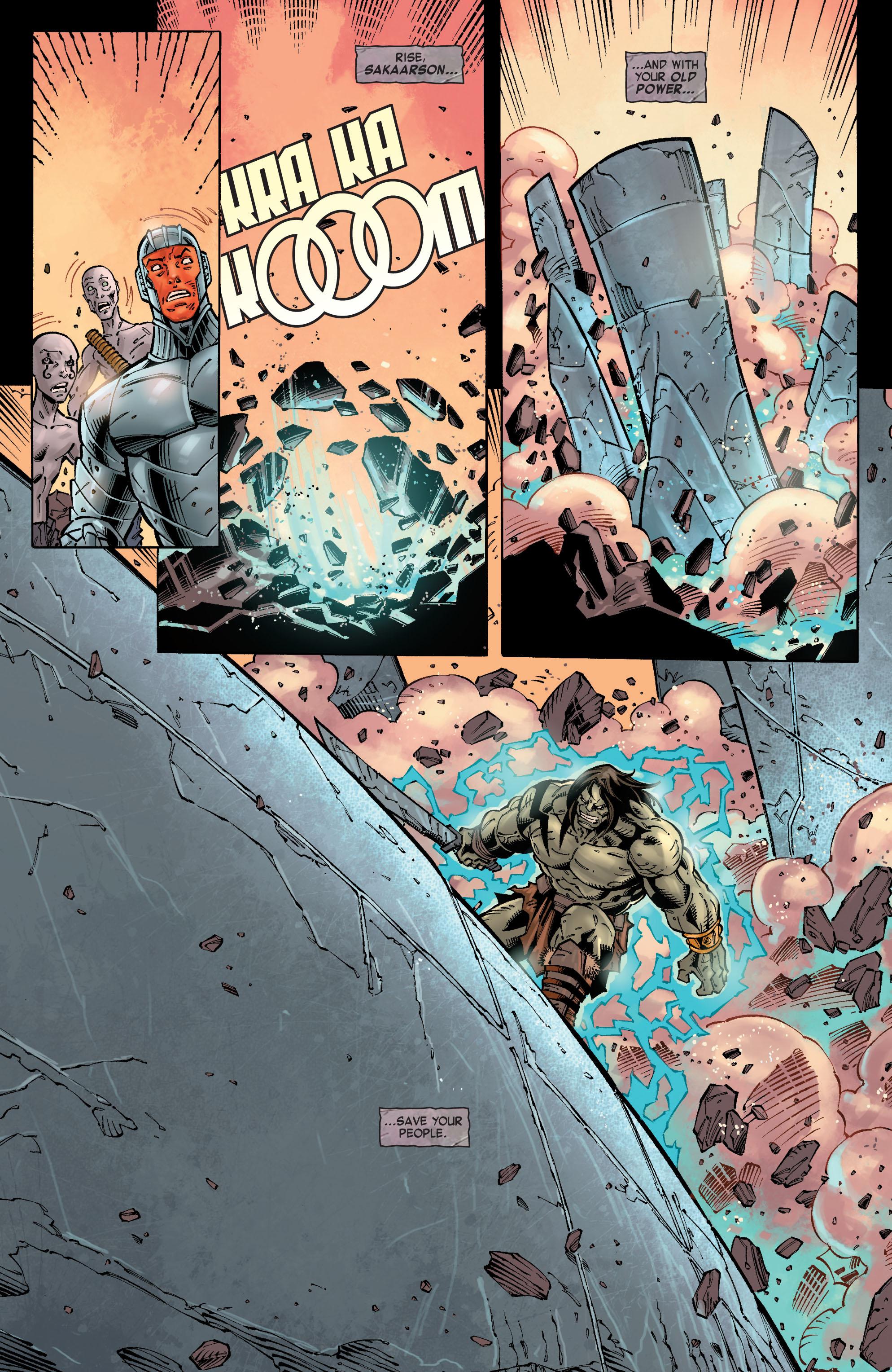 Read online Skaar: Son of Hulk comic -  Issue #10 - 15