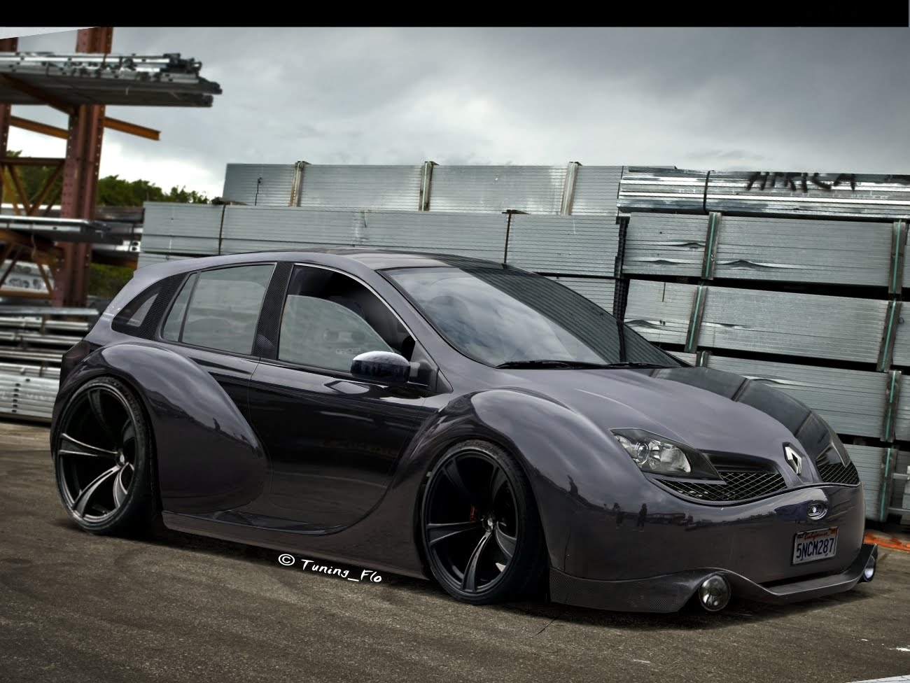 Auto Cars Project Renault Clio Tuning