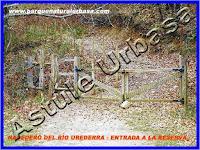 Nº 3 Paso de Madera en la entrada a la Reserva Natural del Río Urederra. Parque Natural Urbasa. Ruta de las Cascadas desde Baquedano, Centro de Turismo Rural y Agroturismo  Casa Rural Navarra Urbasa Urederra. Ven a conocernos… te sorprenderás