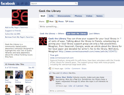 UPDATE: Geek the Library Shout Out