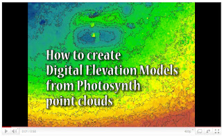Markaeology: How to create a Digital Elevation Model from Photosynth
