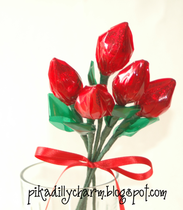 Make A Dozen Roses And Wrap Them Up Or Display Any Way You Want