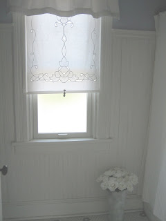 Cutwork Embroidery Roller Shade Add A Tassel Pull And It