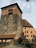 Historic architecture in Nuremberg Germany