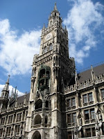 Historic building in Munich Germany
