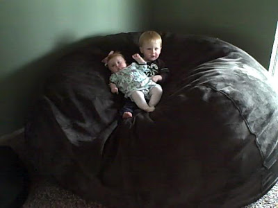 Review Giveaway Lovesac Giant Bean Bag Chair Mommies