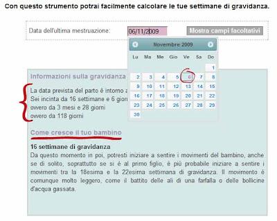 Calendario Gestazionale Settimane.Calcolare L Eta Gestazionale E Semplice Grazie A Mammafelice