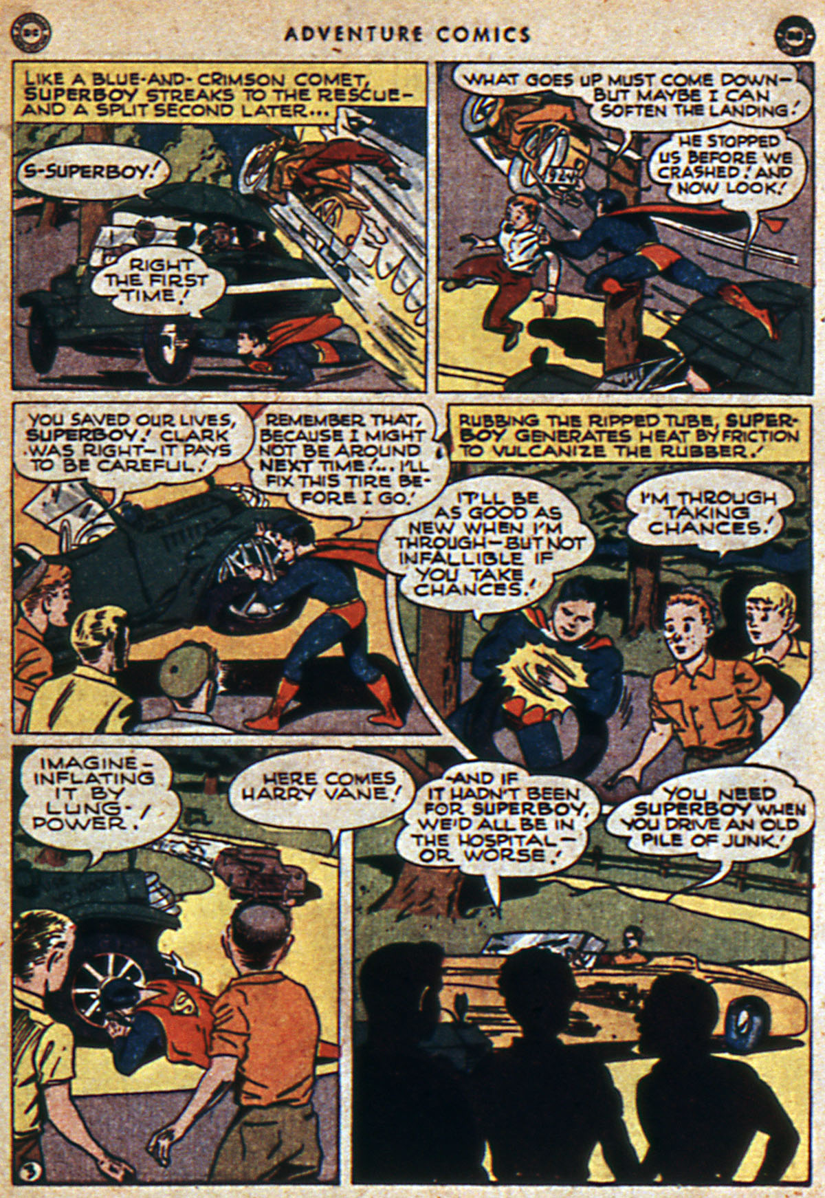 Read online Adventure Comics (1938) comic -  Issue #112 - 5