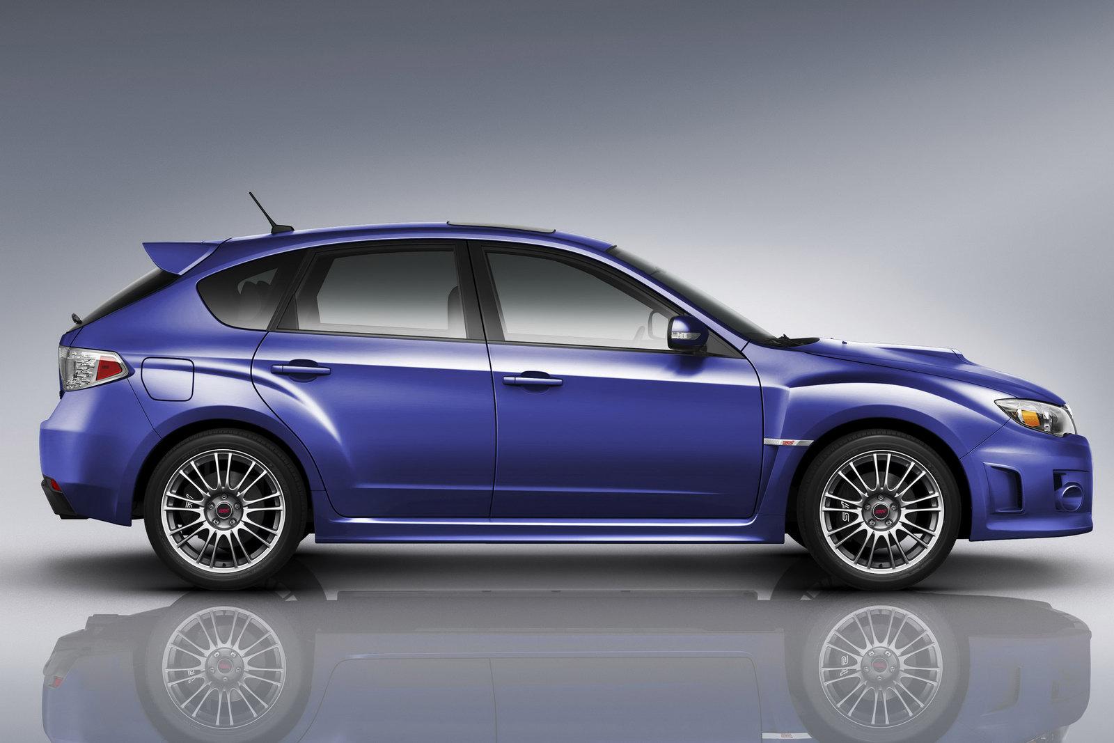 World Concept Cars Subaru Revises 2011 Impreza Sti And