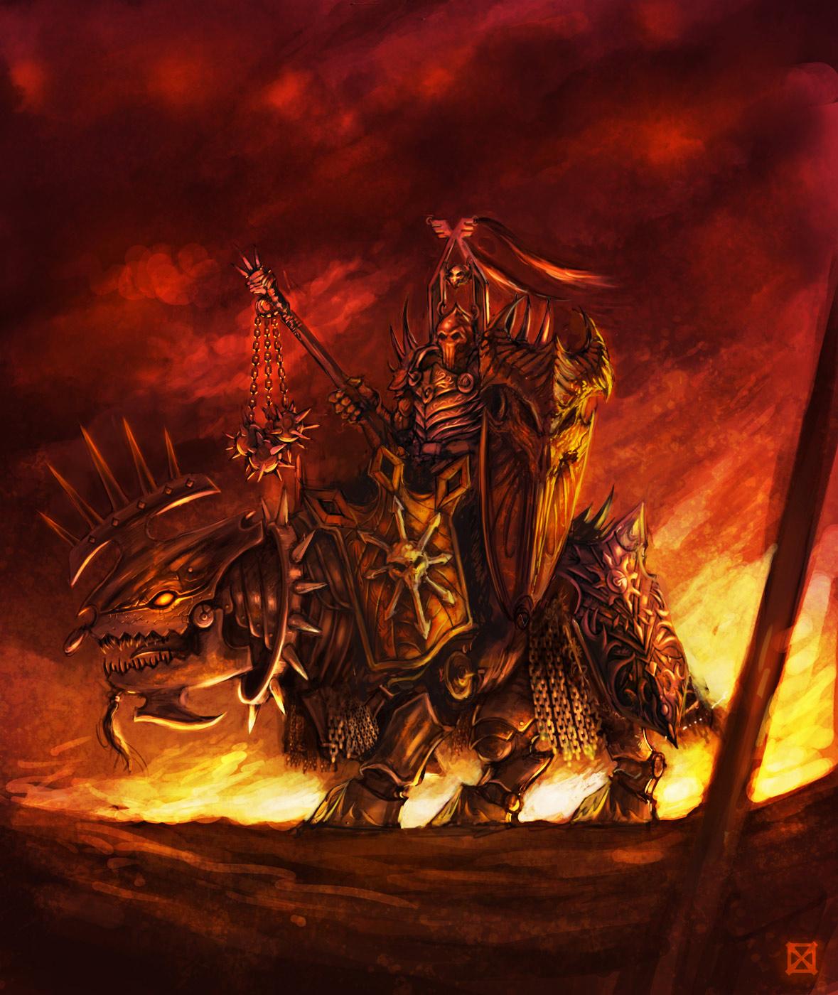 Art: Chaos Lord  Art: Chaos Lord...