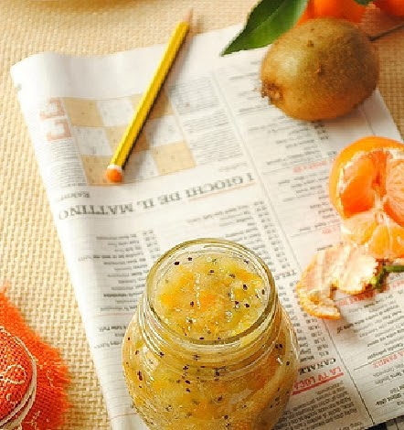 Cose fatte in casa marmellata di kiwi e mandarini for Cose fatte in casa
