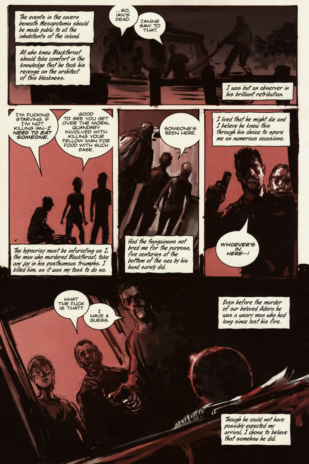 Read online Sea of Red comic -  Issue #13 - 19