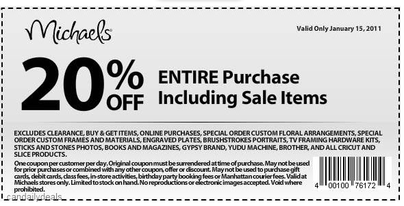 michaels coupons printable october 2018