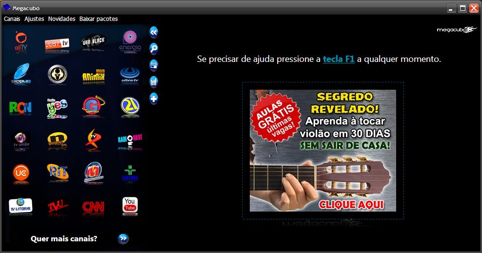megacubo gratis em portugues 2012
