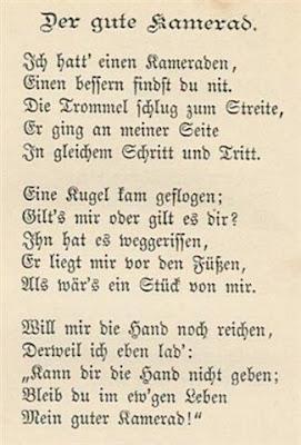 Gedicht Gartenbank